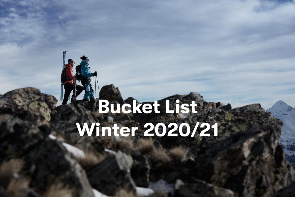 Bucket List für deinen Winter 2020/21